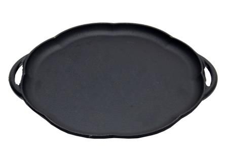 chapa ferro fundido, petisco, 24 cm, sem suporte, bifeteira, bifeira, panela mineira
