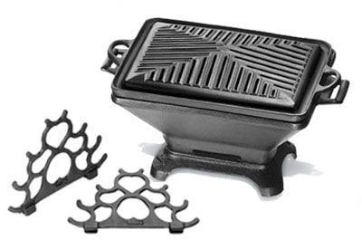 churrasqueira gengis khan, ferro fundido, super, fogareiro carvão, panela mineira