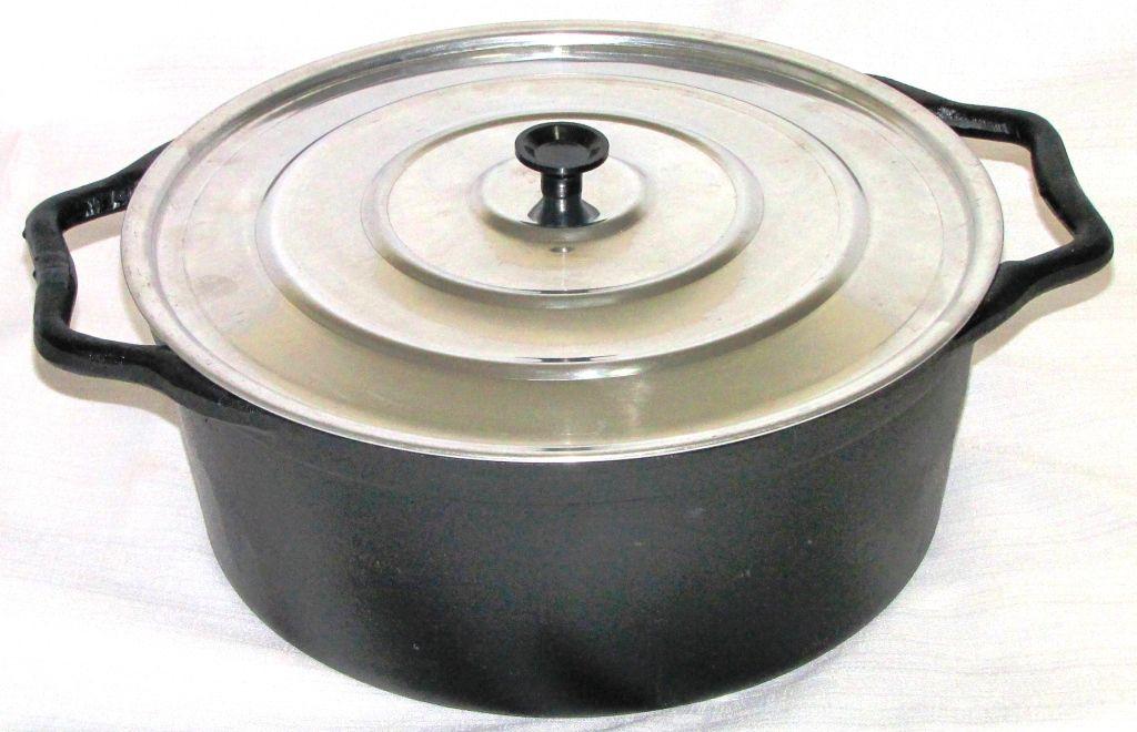 comprar panela ferro fundido, cacarola, caçarola, 8,5 litros, aluminio, panela mineira, fumil