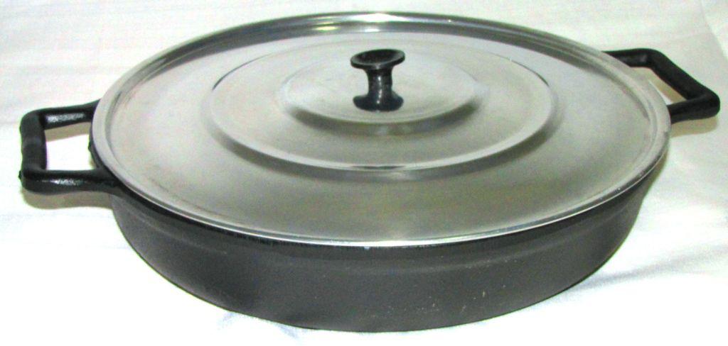 comprar frigideira ferro fundido, paella, paelleira,grande, aluminio, panela mineira, fumil