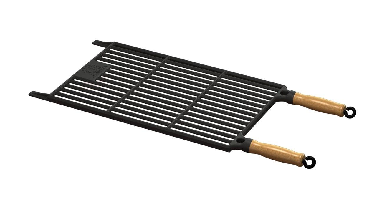 grelha de ferro fundido para churrasqueira, grill de ferro 50x30 libaneza, grelha para parrilla, grelha argentina