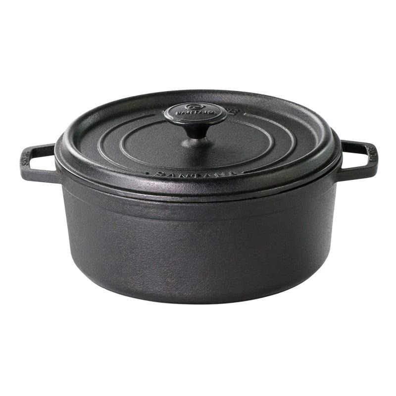 panela de ferro fundido caçarola cocotte 24 cm para panificaçao panela para forno, santana