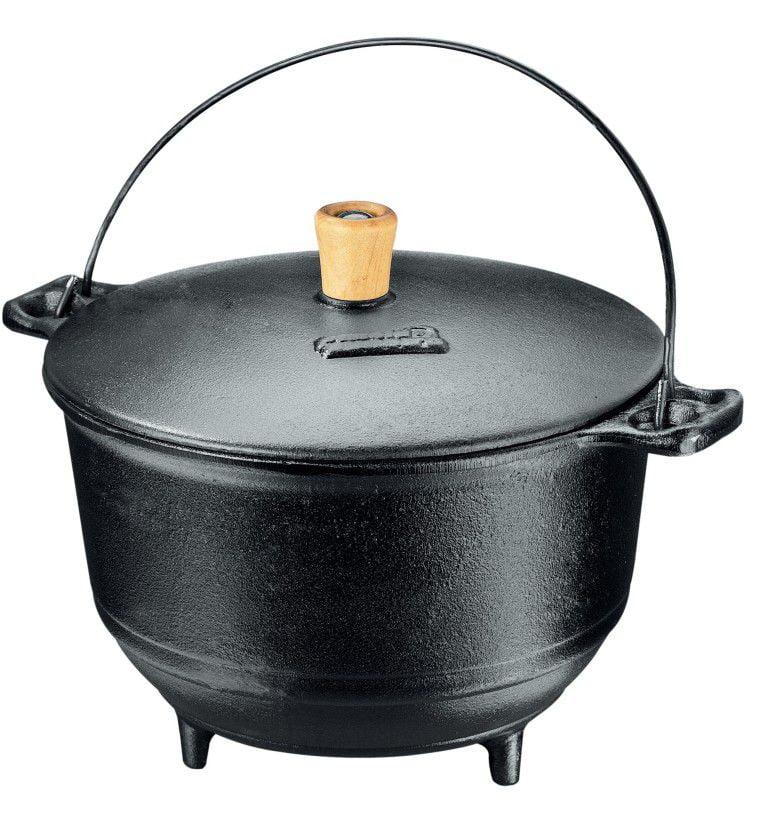 panela ferro fundido 1,4 litros, panela tripé, panela de feijoada, caldo, panela mineira, fumil, caldeirão