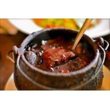 cumbuca de ferro fundido, feijoada, 450ml, panela para feijoada,caldo, santana