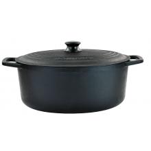panela de ferro fundido, caçarola, cacarola, 6 litros, santana oval