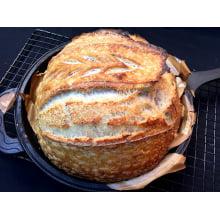panela de ferro fundido, caçarola, levain cacarola, dutch oven, panela para assar pão, forno Holandes, 24 cm