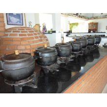 panela de ferro fundido, panela de feijoada, caldo, caldeirão de ferro, natular 9 litros