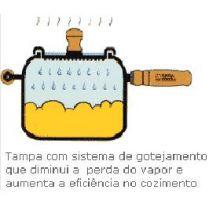 panela de ferro fundido de pressão, panela de pressão, panela mineira modelo pressão