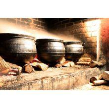 panela de ferro fundido grande, caldeirão de bruxa, 80 l, panela wicca, panela tripé, caldeirão de ferro