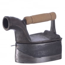 ferro de passar roupa a brasa, ferro antigo miniatura