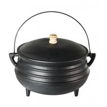 panela de ferro fundido, caldeirão de bruxa, panela wicca, 5 litro, panela de feijoada, panela tripé, caldeirão de ferro, santana, 22cm